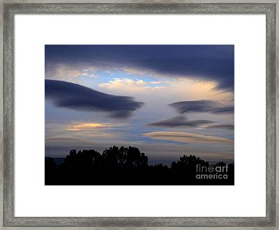 Cloudy Day 2 Framed Print