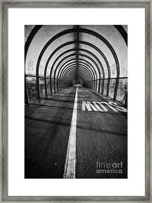Clydeside Walkway Framed Print by John Farnan