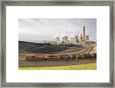 Coal Fired Power Station Framed Print