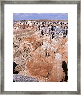 Coal Mine Canyon 1-v Framed Print