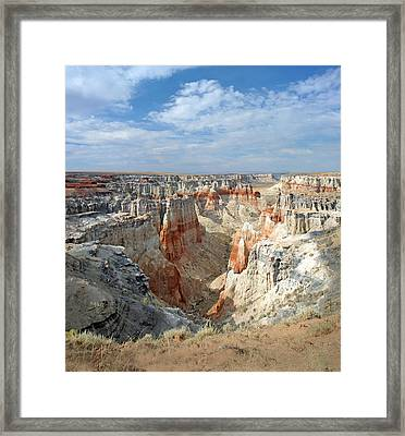 Coal Mine Mesa 14 Framed Print