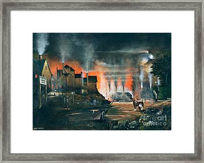 Coalbrookdale Framed Print by Ken Wood