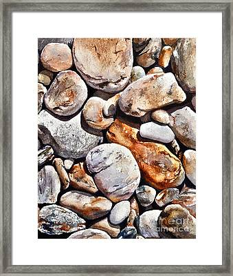 Coast Of Maine Framed Print by Andrea Timm