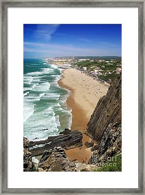 Coastal Cliffs Framed Print by Carlos Caetano