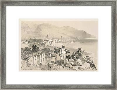 Coastal View Framed Print by British Library
