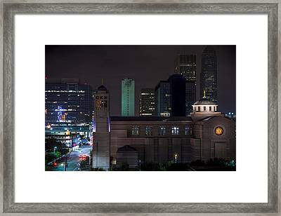 Cocathedral Of The Sacred Heart  Framed Print