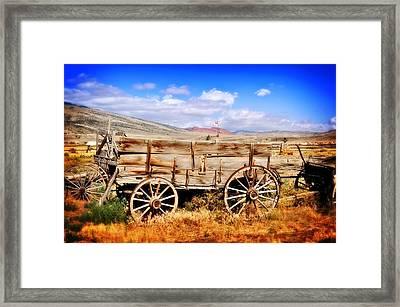 Cody Wagon 3 Framed Print