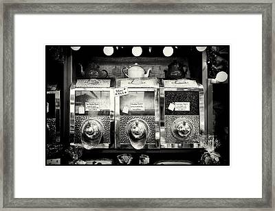 Coffee And Tea Framed Print by Tanya Harrison