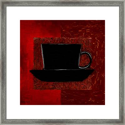 Coffee Passion Framed Print
