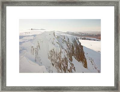 Coire An Lochain Framed Print by Ashley Cooper