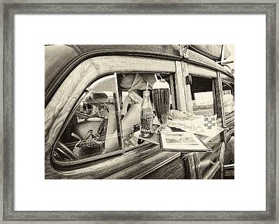 Coke And Float Framed Print by Ron Regalado