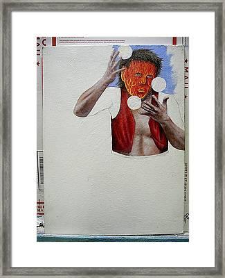Collaboration Framed Print by Steve  Hester