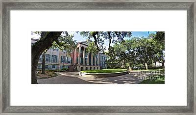 College Of Charleston Randolph Hall  Framed Print by Dustin K Ryan