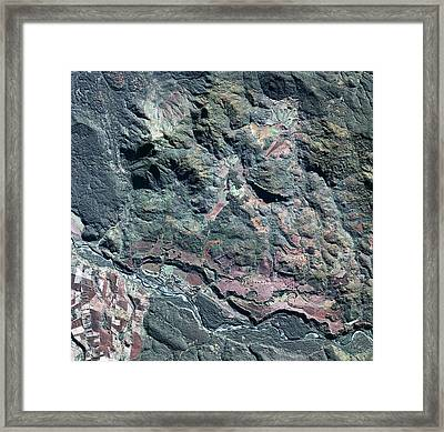 Colonia Dignidad Framed Print by Geoeye/science Photo Library