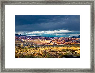 Color Storm No. 2 Framed Print by Jim Snyder