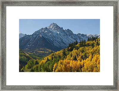 Colorado 14er Mt. Sneffels Framed Print