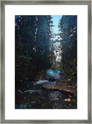 Colorado Fairyland Framed Print
