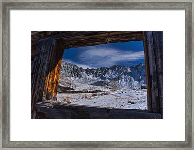 Colorado Mayflower Gulch Framed Print by Michael J Bauer