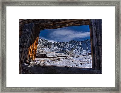 Colorado Mayflower Gulch Framed Print by Michael J Bauer