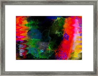 Colorfest Framed Print