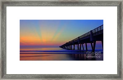 Colorful Palette Framed Print by Thomas Chorbak