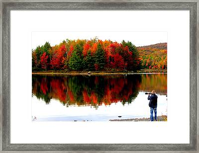 Colorful Reflection Framed Print by Arie Arik Chen