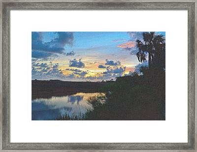 Colorful Sunset 2 Framed Print