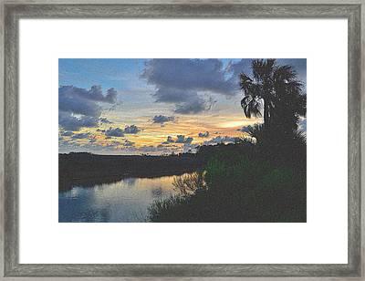 Colorful Sunset 3 Framed Print