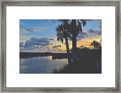 Colorful Sunset 4 Framed Print