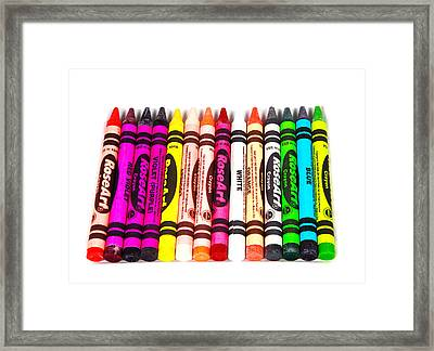 Colors Framed Print by Cecil Fuselier