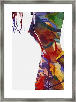 Colors Of Beauty Framed Print by Steve K