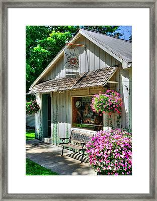 Colors Of Metamora 4 Framed Print