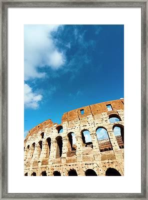 Colosseum Or Flavian Amphitheatre Framed Print