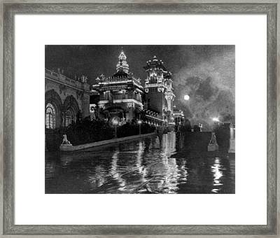 Columbian Exposition Electrical Framed Print