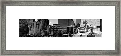 Columbus Circle Framed Print by Amy Cicconi