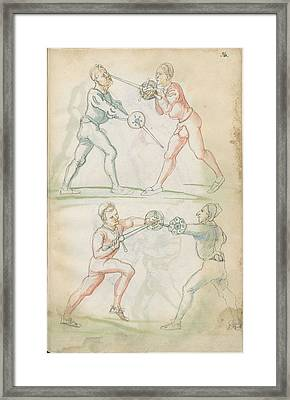 Combat Training  Framed Print by Celestial Images