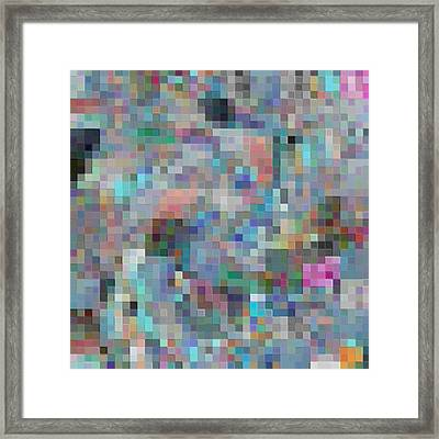 #1 Combination Series Framed Print