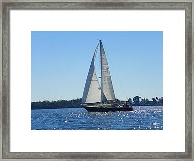 Come Sail Away 2 Framed Print