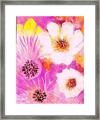 Come Spring Framed Print by Anne-Elizabeth Whiteway