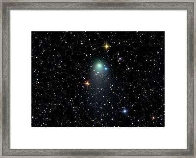 Comet C2012 V2 Framed Print