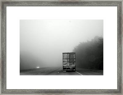 Coming And Going   Framed Print by Sherry Gombert