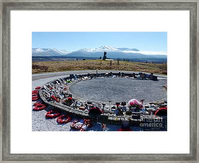 Commando Memorial - Spean Bridge Framed Print by Phil Banks