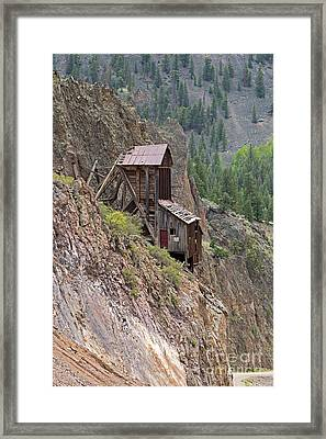 Commodore Mine On The Bachelor Historic Tour Framed Print