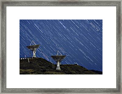 Communications To The Stars Framed Print