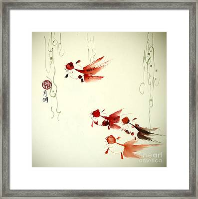 Companions Framed Print by Ming Yeung