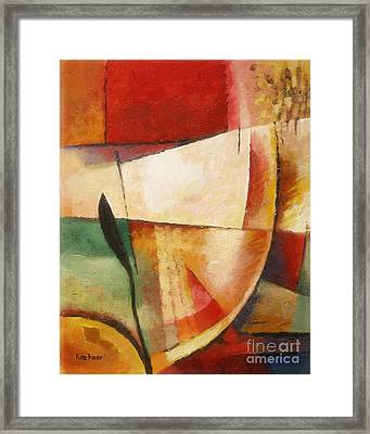 Composition Framed Print by Lutz Baar