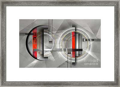 composition XIV Framed Print by Franziskus Pfleghart