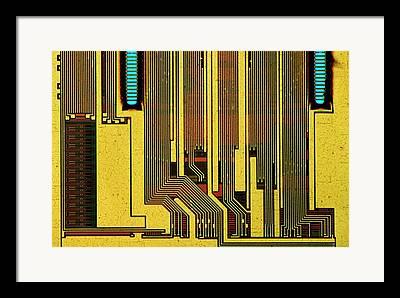 Synchronous Framed Prints