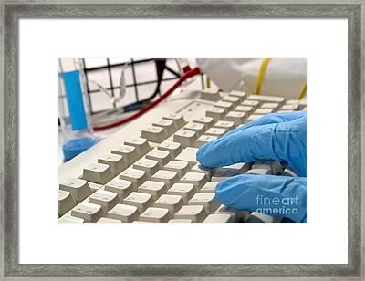 Computerized Medicine  Framed Print