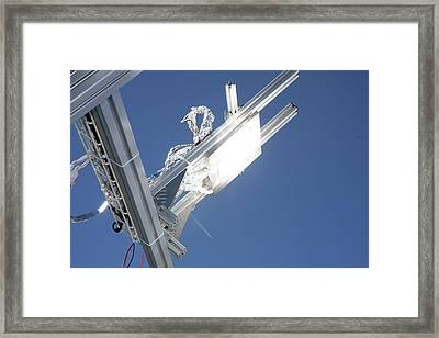 Concentrated Solar Power Framed Print by Ibm Research